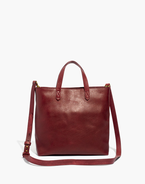 The Zip-Top Transport Crossbody in dark cabernet image 1
