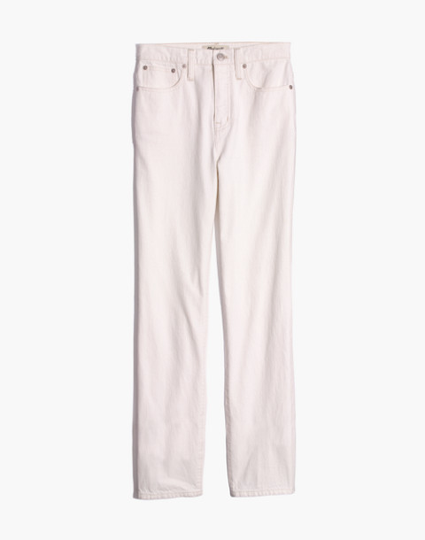 Classic Straight Jeans in Tile White