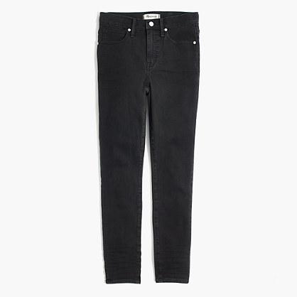 "10"" High-Rise Skinny Crop Jeans in Lunar Wash"