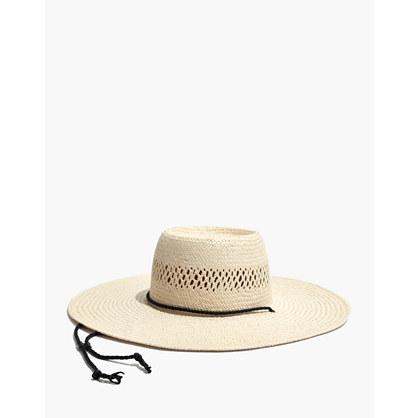 Stampede-Strap Straw Hat