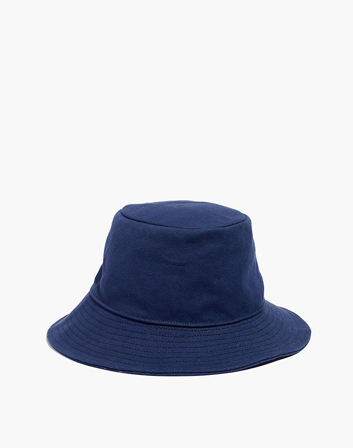 5a5c37bfae062 Short-Brimmed Canvas Bucket Hat
