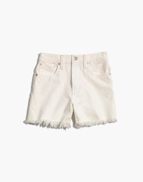 The Perfect Jean Short in Tile White in tile white image 4