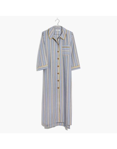 Bedtime Long Nightshirt in tulum blue image 4