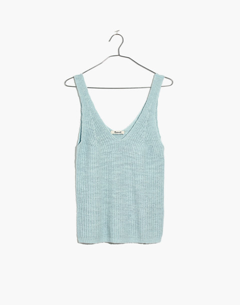 Monterey Sweater Tank in sea breeze image 1