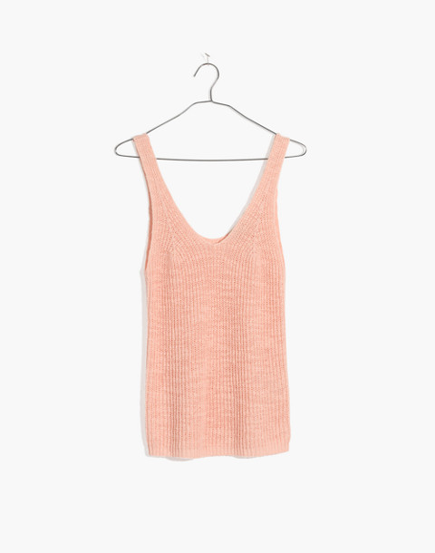 Monterey Sweater Tank in lucid pink image 1