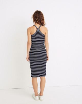 Striped Racerback Midi Dress