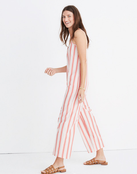 Striped Cami Jumpsuit in muslin image 2