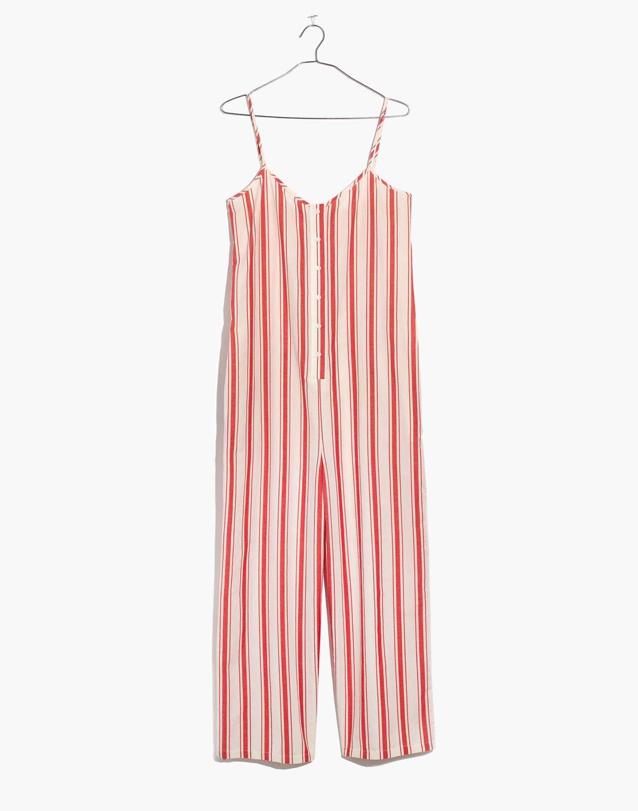 Striped Cami Jumpsuit in muslin image 4
