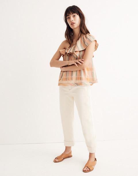 Cecilie Copenhagen Single-Shoulder Ruffle Top in multi image 2