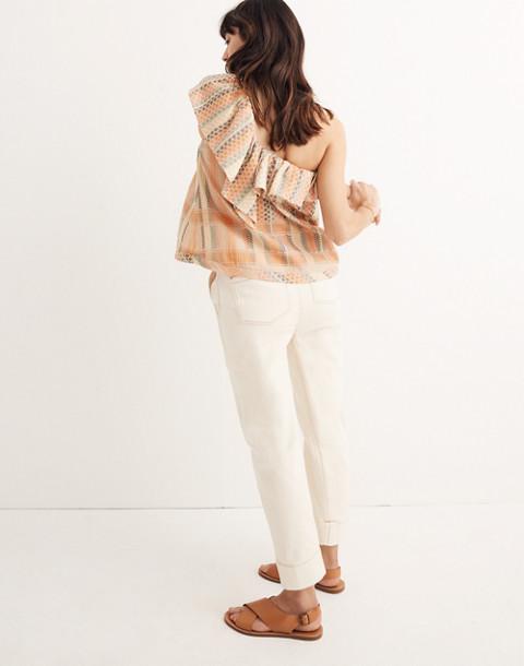 Cecilie Copenhagen Single-Shoulder Ruffle Top in multi image 3