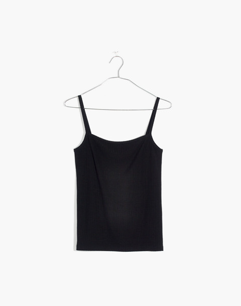 Square-Neck Tank Top