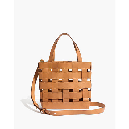 The Transport Crossbody: Basketweave Edition by Madewell