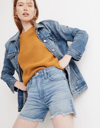The Perfect Jean Short: Step-Hem Edition
