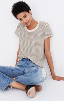 Pre-order Rivet & Thread Ex-Boyfriend Tee in Stripe