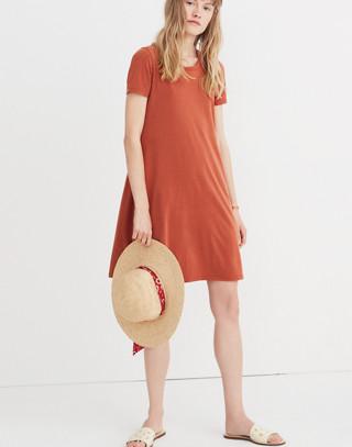 Sandwashed Swingy Tee Dress