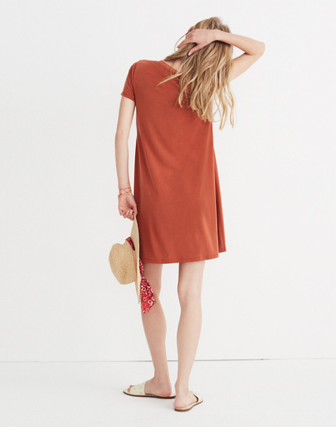 Sandwashed Swingy Tee Dress