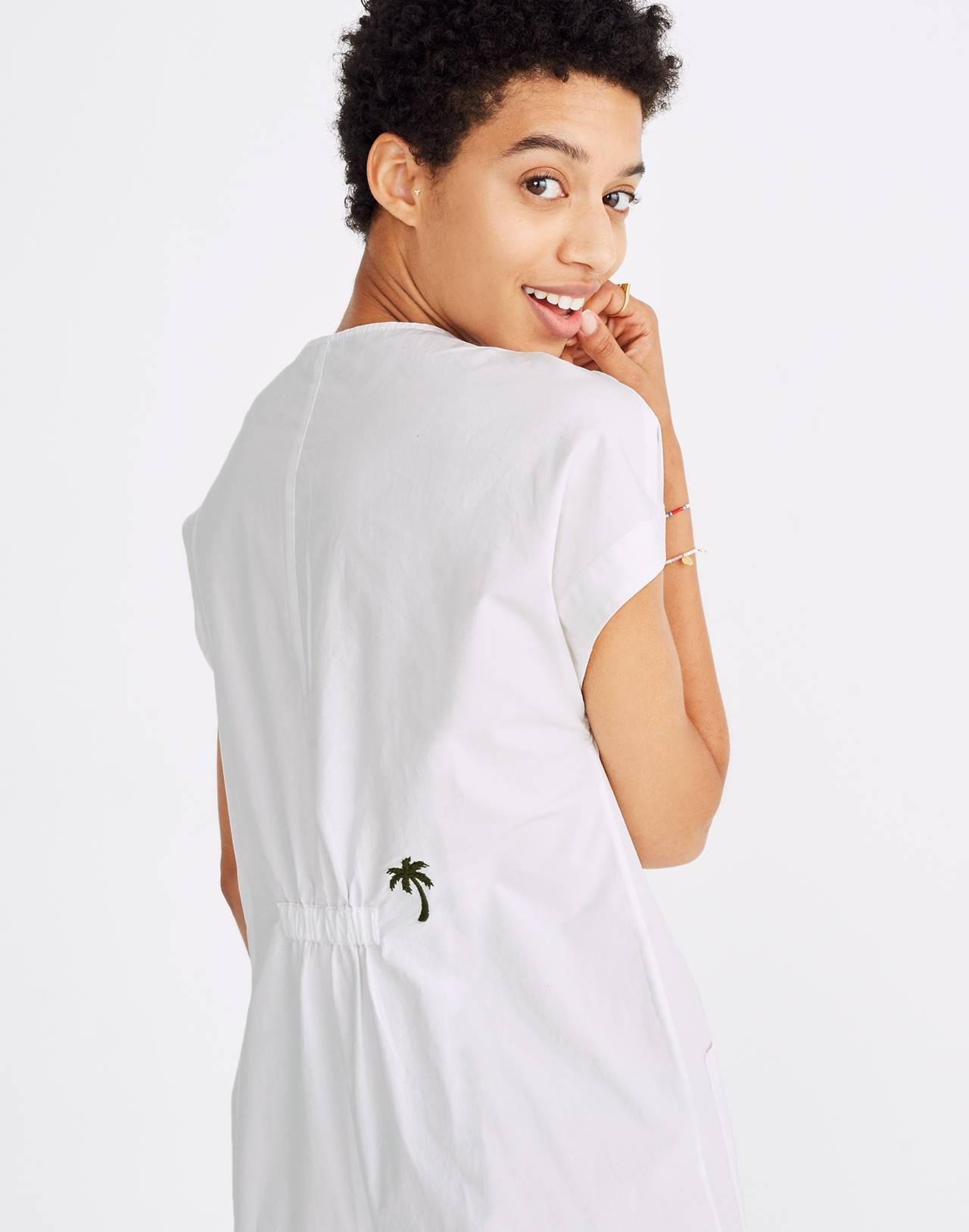 Mosswood Jumpsuit in eyelet white image 2