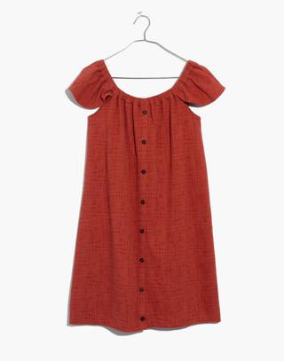 Texture & Thread Off-the-Shoulder Dress