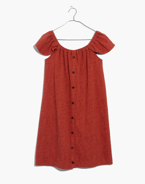 Texture & Thread Off-the-Shoulder Dress in spiced rose image 4