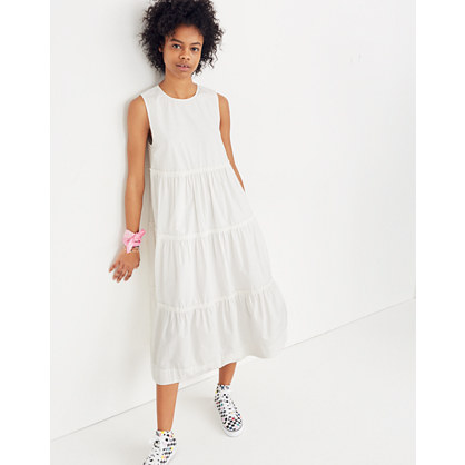 Cattail Tiered Dress by Madewell