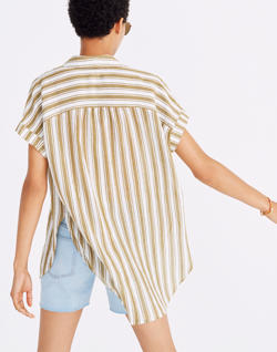Central Tunic Shirt in Williams Stripe
