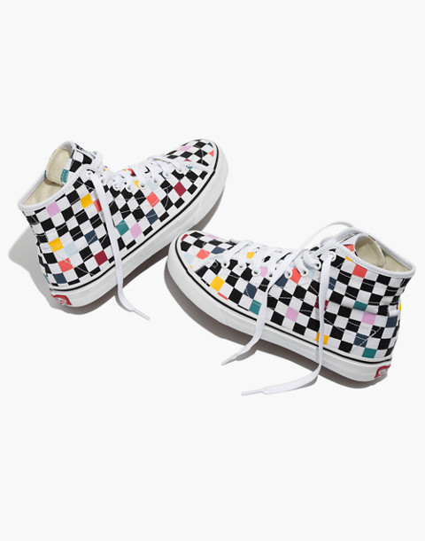 Vans® Unisex SK8-Hi Decon High-Top Sneakers in Party Checkerboard