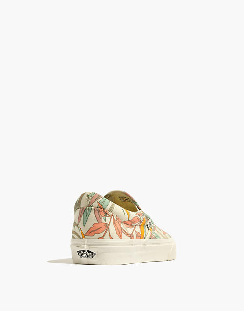 637f2ad5a0 Vans reg  Unisex Classic Slip-On Sneakers in Cali Floral in california  floral ...