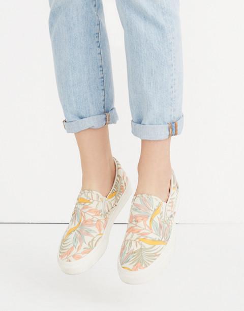 Vans® Unisex Classic Slip-On Sneakers in Cali Floral