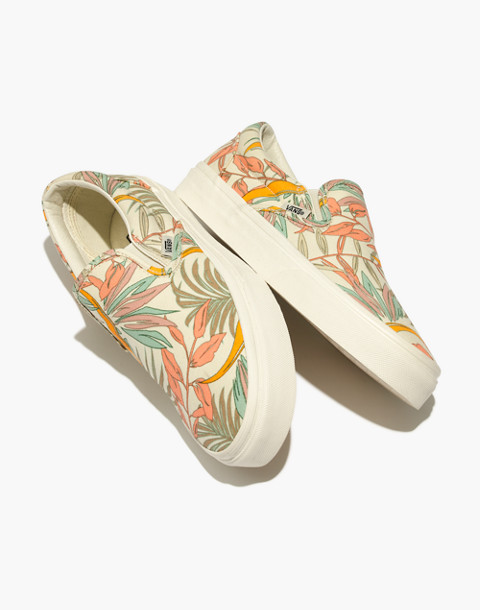 b65e62b3dff2d2 Vans® Unisex Classic Slip-On Sneakers in Cali Floral