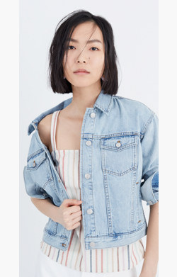 The Perfect Summer Jean Jacket in Fitzgerald Wash