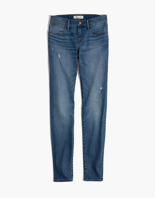 "Tall 8"" Skinny Jeans in Bellaire Wash in bellaire wash image 4"