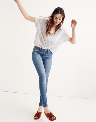 """8"""" Skinny Jeans in Bellaire Wash"""