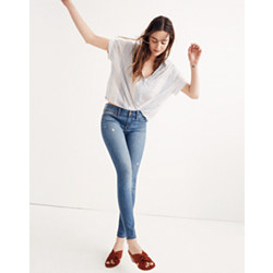 "Tall 8"" Skinny Jeans in Bellaire Wash"