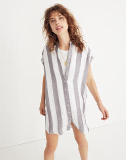 Maywood Stripe Shirtdress