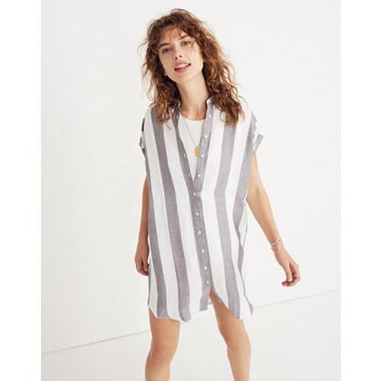 Maywood Stripe Shirtdress