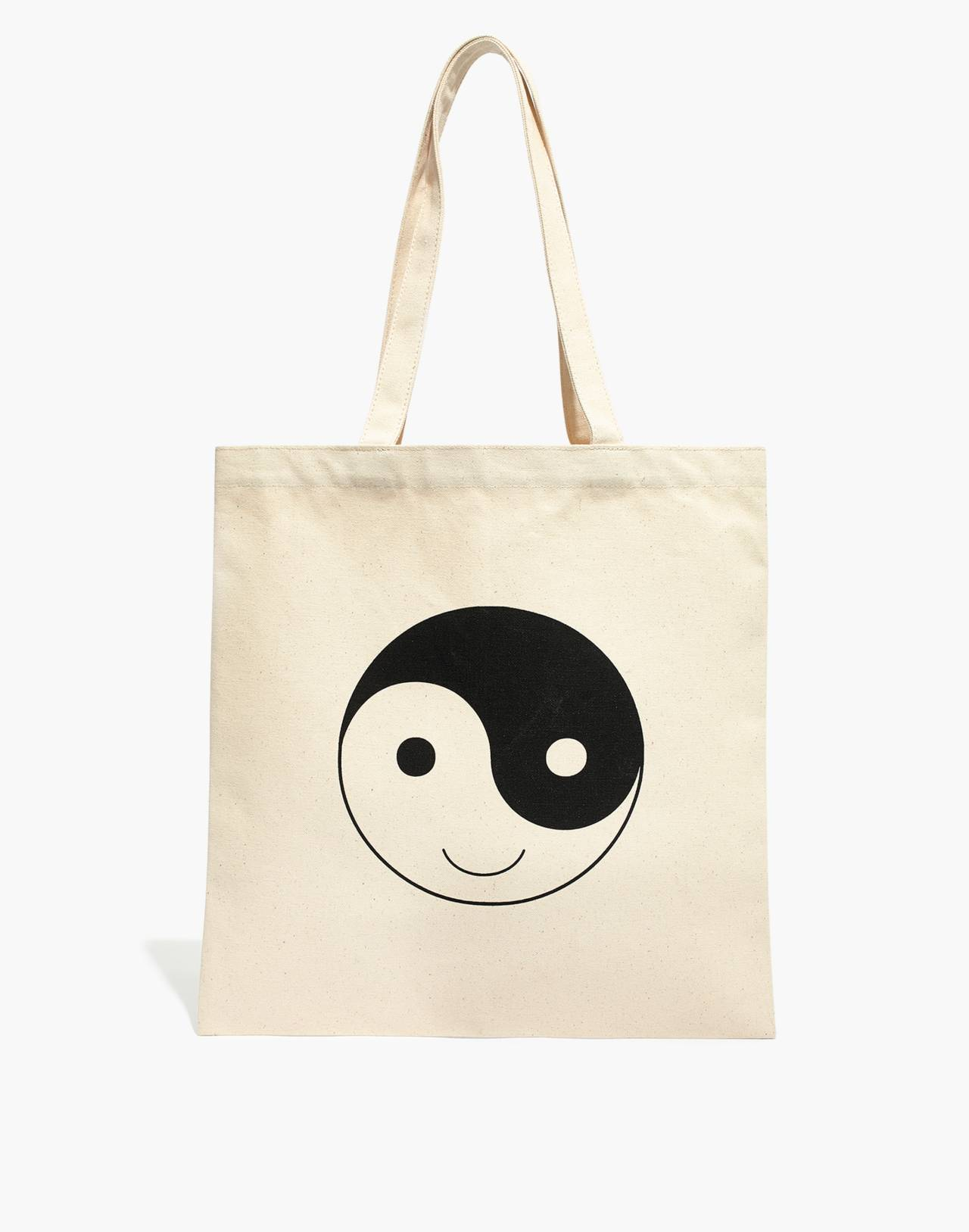 The Reusable Canvas Tote in antique cream image 1