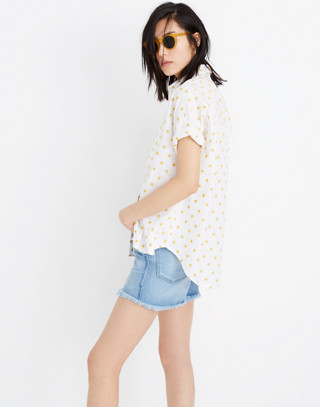 Sun Embroidered Courier Shirt