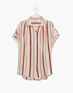 Central Shirt in Albee Stripe