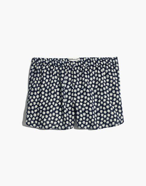Bedtime Pajama Shorts in Mini Daisy