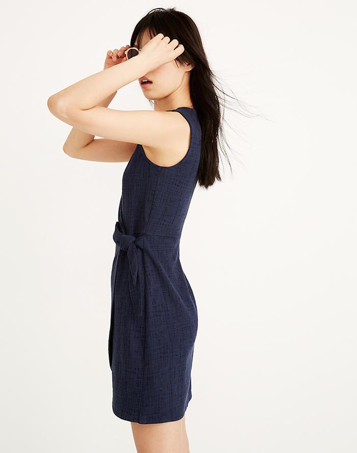 48b12a5c0166 Texture   Thread Side-Tie Dress