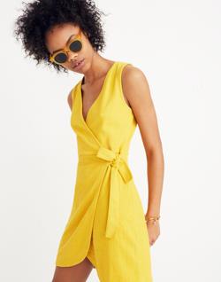 Texture & Thread Side-Tie Dress