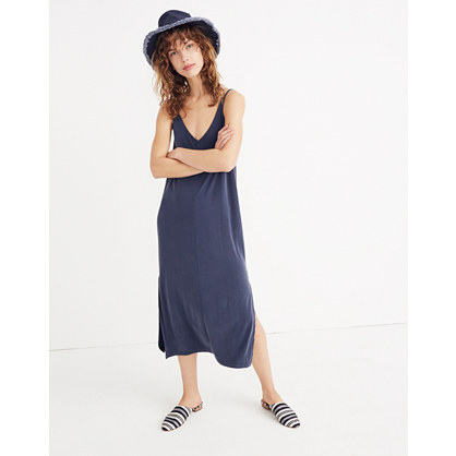 Sandwashed Midi Slip Dress by Madewell