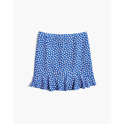 Ruffle Edge Skirt In Mini Daisy by Madewell