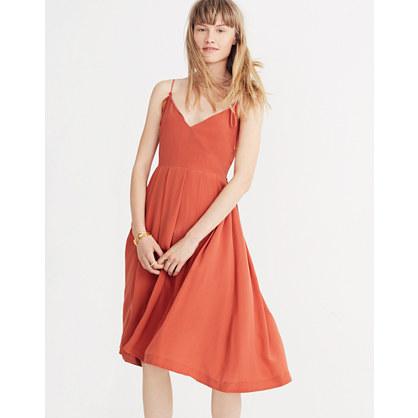Silk Fern Cami Dress