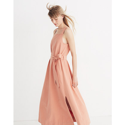 Apron Tie Waist Dress by Madewell