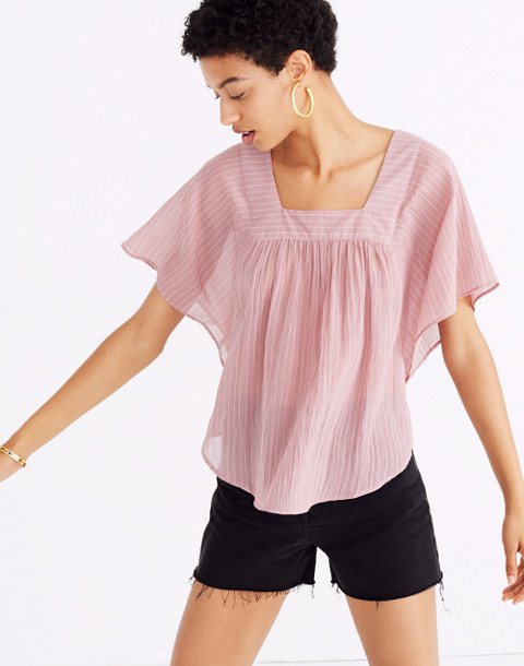 Butterfly Top In Irving Stripe by Madewell