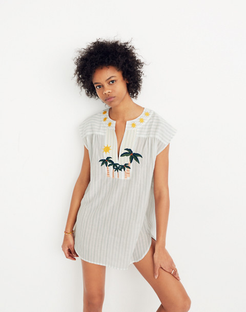 Belize Cover-Up Tunic Dress