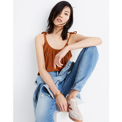 Gathered Neck Tank Top by Madewell