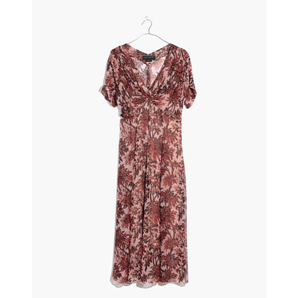 Karen Walker® Silk Romanticism Print Dress by Madewell