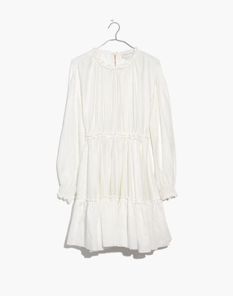 Karen Walker® Azolla Dress in off white image 4